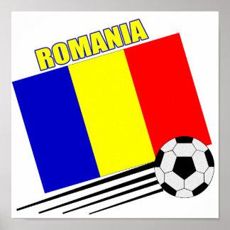 Romanian Soccer Team Poster