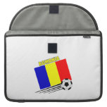 Romanian Soccer Team Sleeves For MacBook Pro