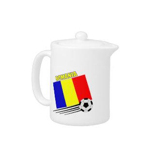 Romanian Soccer Team Teapot