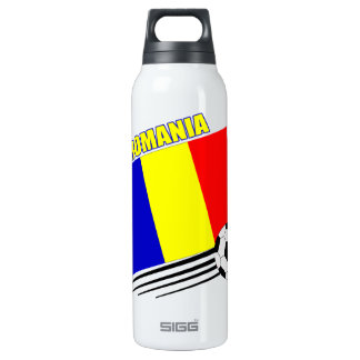 Romanian Soccer Team Thermos Water Bottle
