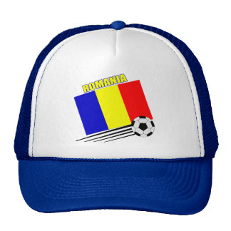 Romanian Soccer Team Trucker Hat