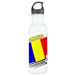 Romanian Soccer Team Water Bottle