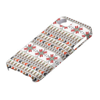 Romanian traditional embroidery pixelwork iPhone SE/5/5s case