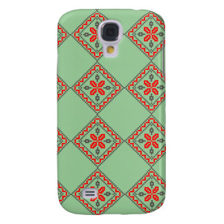 Romanian traditional pattern samsung s4 case