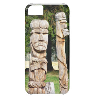 Romanian traditional wood carving iPhone 5C case