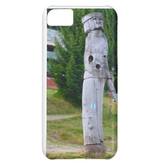 Romanian traditional wood carving iPhone 5C cover