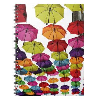 Romanian Umbrellas Notebook