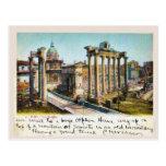 Romano 1901 de Roma, Italia Foro Tarjeta Postal