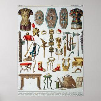 Romano antiguo póster