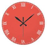 Romano clásico reloj de pared