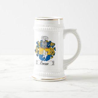 Romano Family Crest Beer Stein