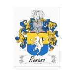 Romano Family Crest Canvas Prints