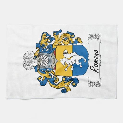 Romano Family Crest Towel