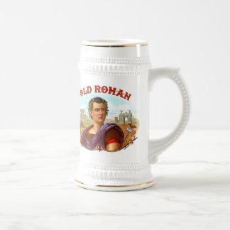Romano viejo jarra de cerveza