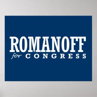 ROMANOFF FOR CONGRESS 2014 PRINT