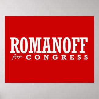 ROMANOFF FOR CONGRESS 2014 POSTER