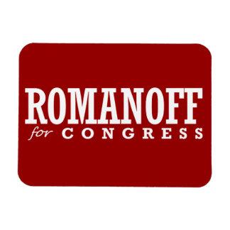 ROMANOFF FOR CONGRESS 2014 VINYL MAGNET