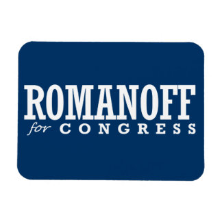 ROMANOFF FOR CONGRESS 2014 MAGNETS