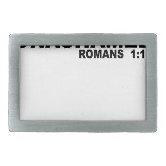 Romanos Unashamed 1 16.png Hebilla De Cinturón Rectangular