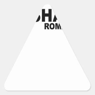 Romanos Unashamed 1 16.png Pegatinas Trianguladas Personalizadas