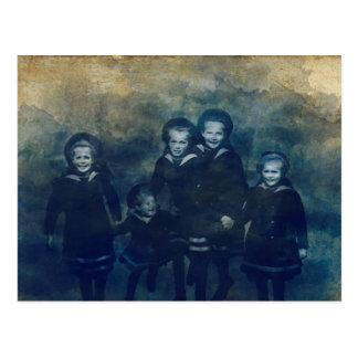 Romanov children postcard