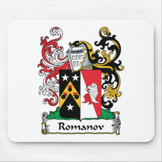 Romanov Family Crest Mouse Pad
