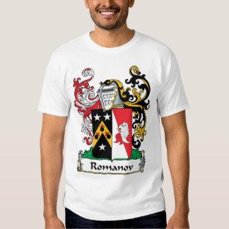 Romanov Family Crest Tshirts