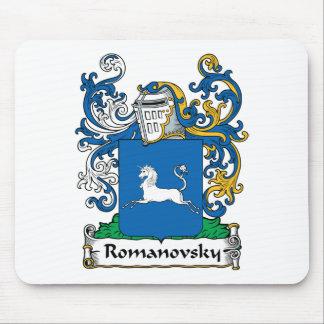 Romanovsky Family Crest Mouse Mat
