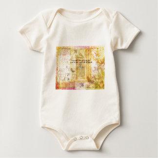 Romans 10:13 Inspirational Bible Verse art Baby Bodysuit