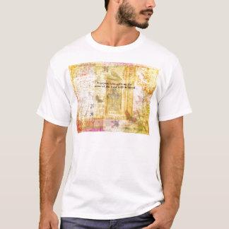 Romans 10:13 Inspirational Bible Verse art T-Shirt