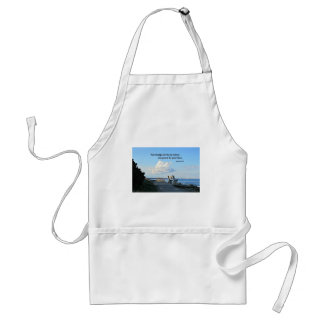 Romans 10:15 How beautiful are the feet... Adult Apron