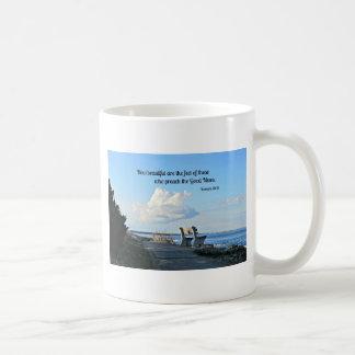 Romans 10:15 How beautiful are the feet... Coffee Mug