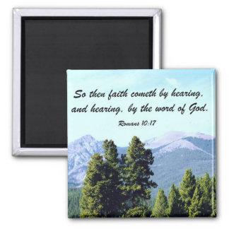 Romans 10:17 magnet