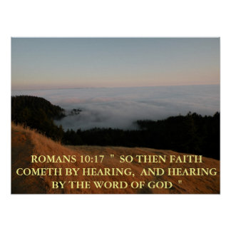 ROMANS 10:17 POSTER