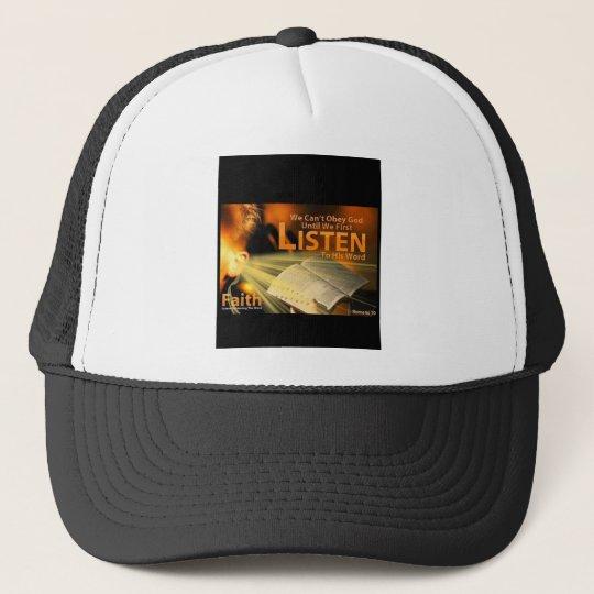 Romans 10:17 Trucker Hat
