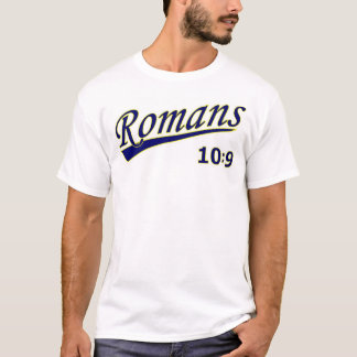 Romans 10:9 Classic Baseball T-Shirt