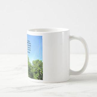 Romans 10:9 coffee mug
