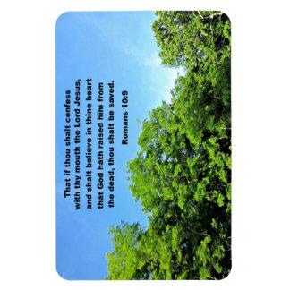 Romans 10:9 magnet
