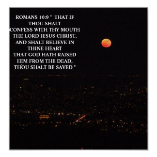 ROMANS 10:9 POSTERS