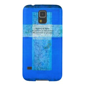 Romans 12 12 BIBLE VERSE about HOPE Samsung Galaxy Nexus Cover