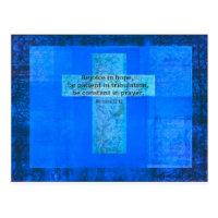 Romans 12:12 BIBLE VERSE about HOPE Postcard