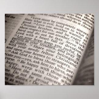 Romans 12:12 [Print] Poster