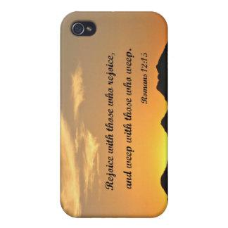 Romans 12 15 iPhone 4/4S cover