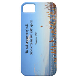 Romans 12 21 Be not overcome of evil iPhone 5 Covers