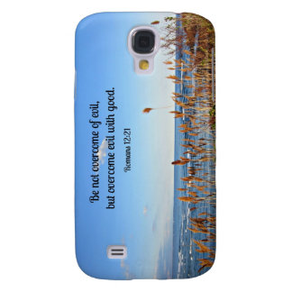 Romans 12:21 Be not overcome of evil... Samsung Galaxy S4 Covers