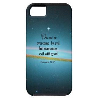 Romans 12:21 iPhone 5 cases