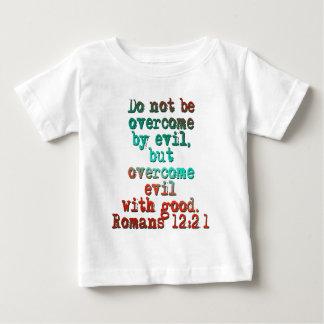 Romans 12:21 infant t-shirt