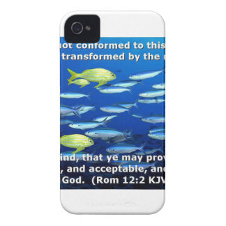 Romans 12:2 iPhone 4 cover