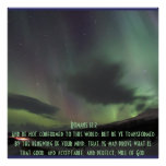 Romans 12:2 Inspirational-Bible-Verse Blessing Print