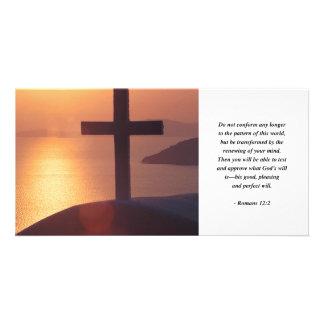 ROMANS 12:2 PHOTO CARD